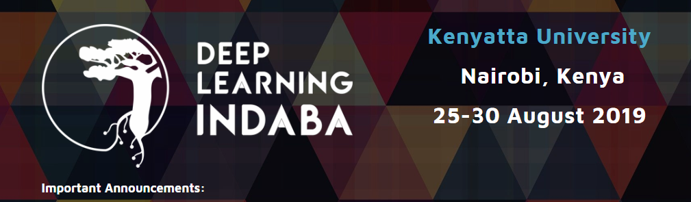 Community Networks at DeepLearning Indaba