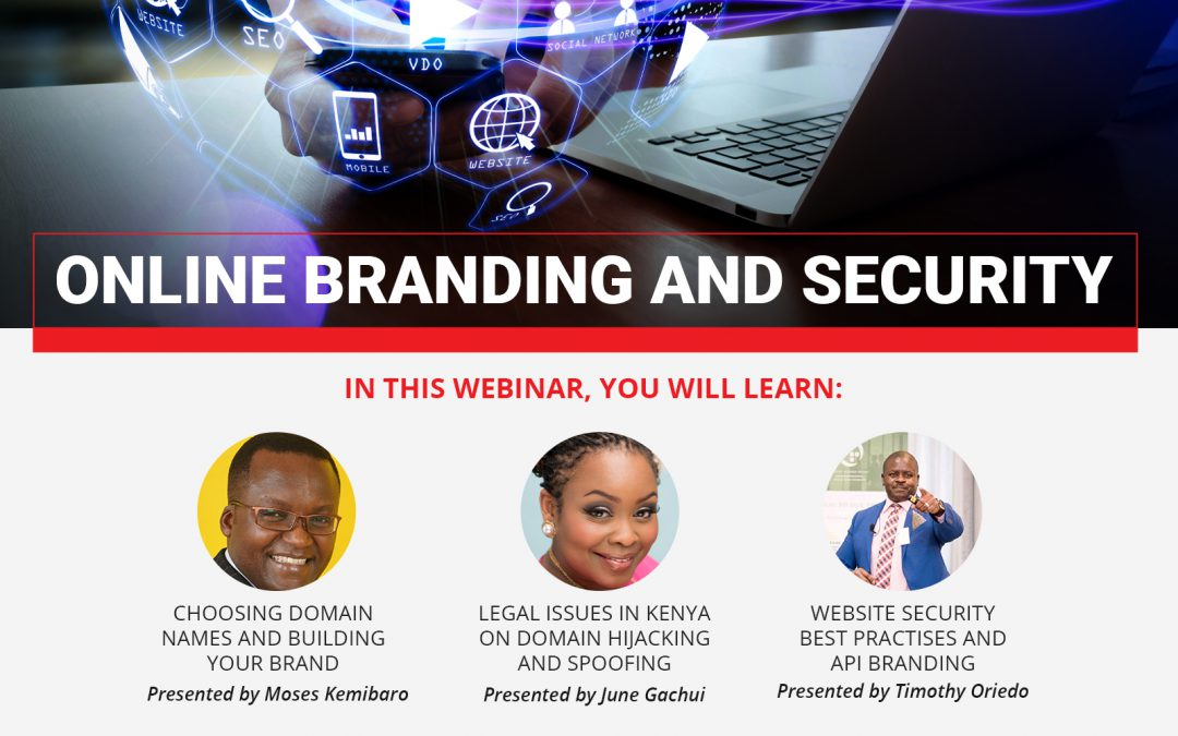 INVITATION TO PARTICIPATE IN AN ONLINE BRANDING AND SECURITY WEBINAR