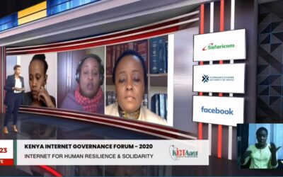 My reflection on Kenya School of Internet Governance and working in Post Covid19 era