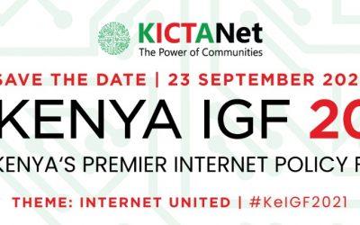 Internet United : Kenya IGF 2021