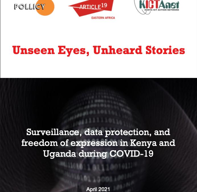 Unseen eyes, unheard stories: experiences of COVID-19 surveillance in Kenya and Uganda